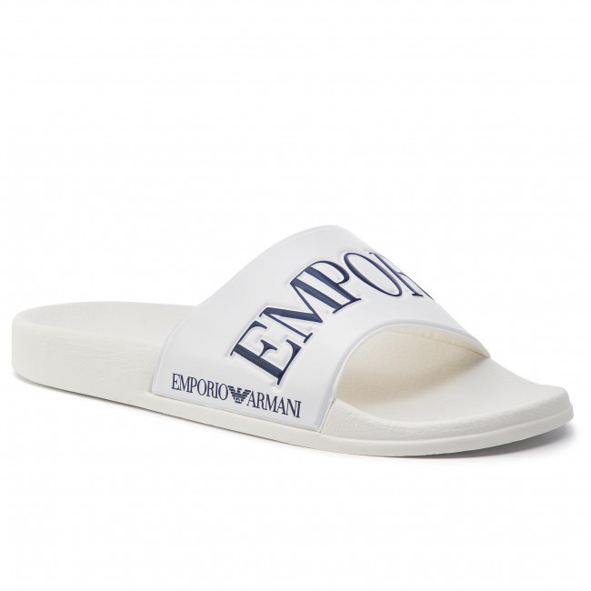 Ciabatte EMPORIO ARMANI - X4P094 XL792 B139 White/Night