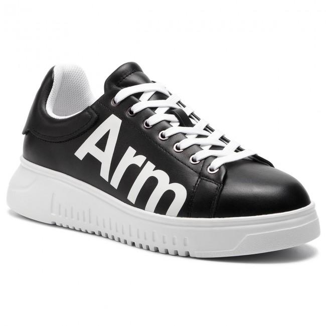 Sneakers EMPORIO ARMANI X4X264 XL773 A120 BlackOptical White