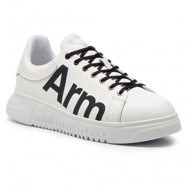 Sneakers EMPORIO ARMANI X4X264 XL773 D611 Optical WhiteBlack