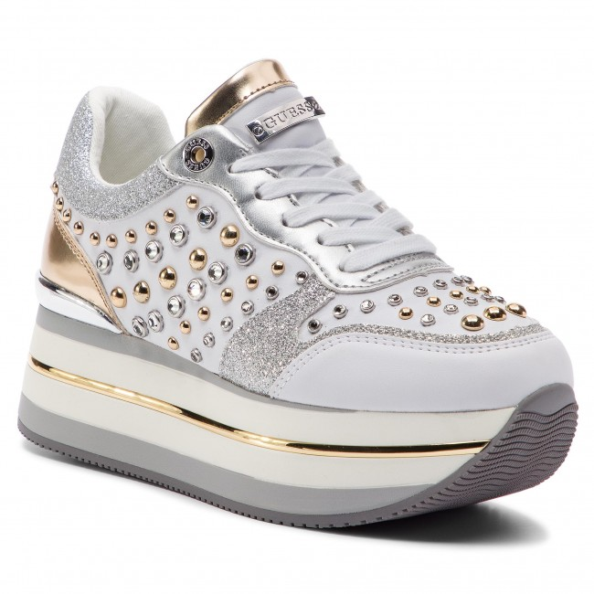 Sneakers GUESS Hamptyn FL5HAM ELE12 WHITE