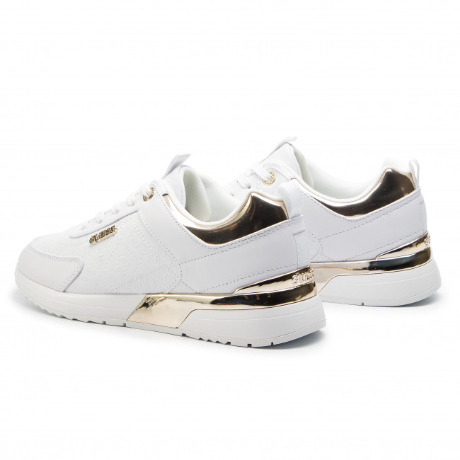 9248c3c0b6068a Sneakers GUESS - Marlyn FL5MRL FAL12 WHITE - Sneakers - Scarpe basse ...