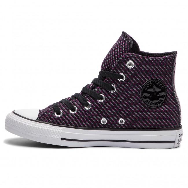 icon cool Grey Black Ginnastica Ctas Da Donna Hi 562461c Violet Scarpe Converse Basse c35AR4jLq
