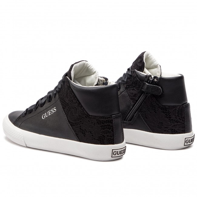 Guess Marty Ele12 Black Sneakers Scarpe Basse Donna Fjmrt3 rdexBWoC
