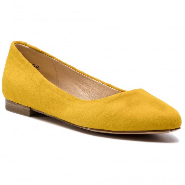 Ballerine CAPRICE 9 22104 22 Yellow Suede 641