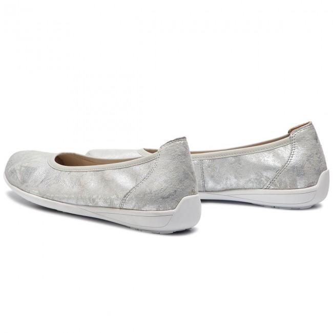 Ballerine CAPRICE - 9-22122-22 Silver Shin.Su 926 - Ballerine - Scarpe basse - Donna