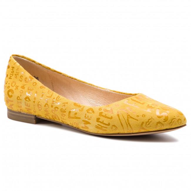 Ballerine CAPRICE 9 22114 32 Yellow Letters 680
