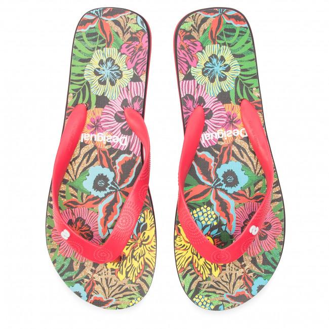 Tropical 2000 Donna Flop Flip Infradito Shoes 19sshf10 Sandali E Ciabatte Desigual Rosso yvN8O0wmn