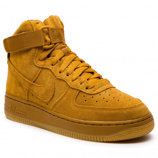 Scarpe NIKE Air Force 1 High Lv8 (GS) 807617 701 WheatWheat Gum Light Brown