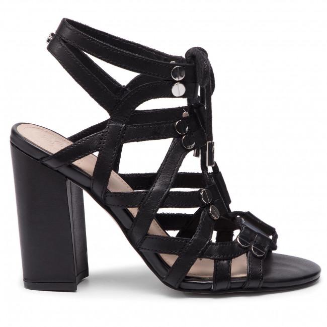 Sandali GUESS Karlie FL6RLI LEA03 BLACK