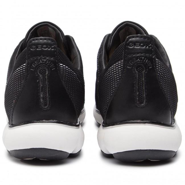 Basse D Geox black Sneakers 03l11 White Scarpe Donna Nebula D621ec C C0404 jLqUGzVSMp