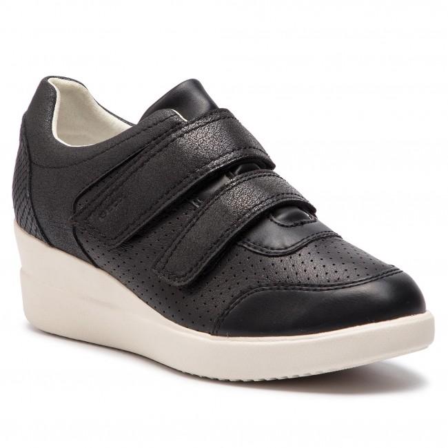 Sneakers GEOX D Stardust C D8230C 00085 C9999 Black