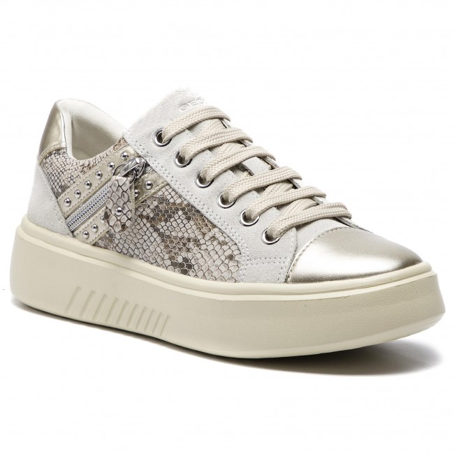 Sneakers GEOX D Nhenbus F D828DF Off White Sneakers
