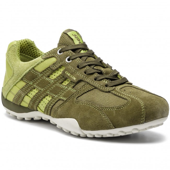 Sneakers GEOX U Snake K U4207K 02214 CB33S MuskLime Green