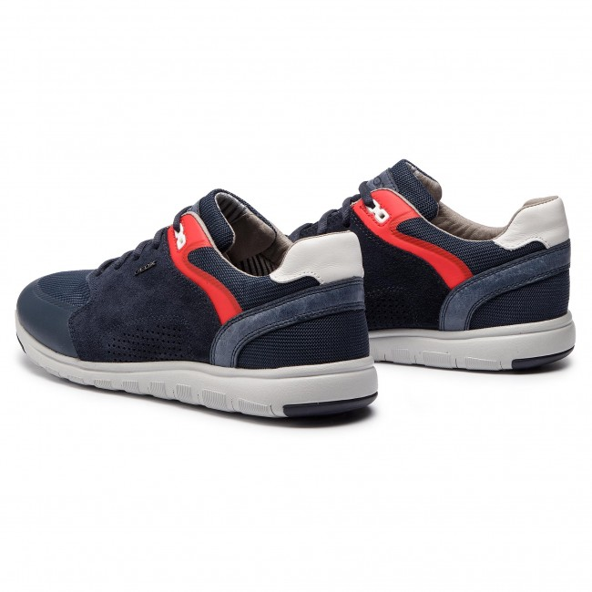 Alla Moda Sneakers Geox Uomo Xunday 2fit C4002 Navy