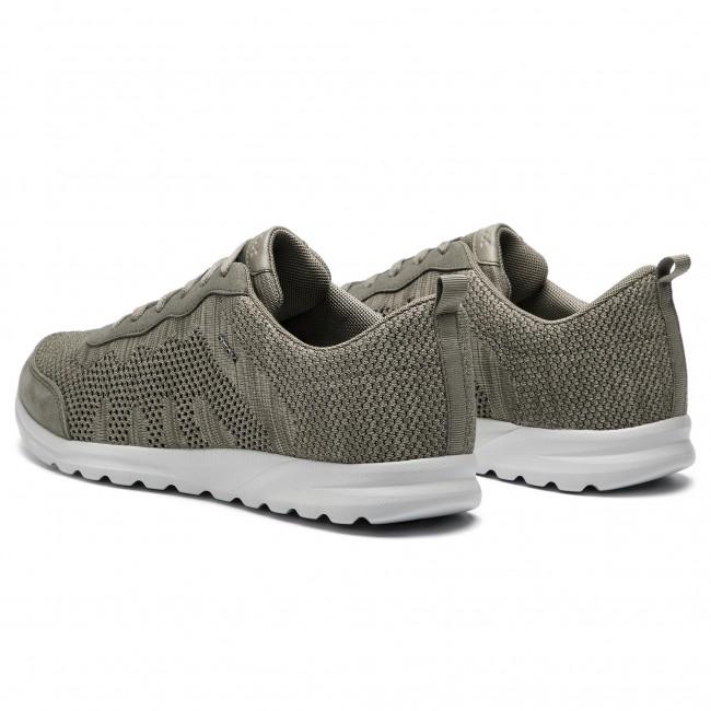 Sneakers GEOX U Erast B U823EB 01122 C1018 Dove Grey