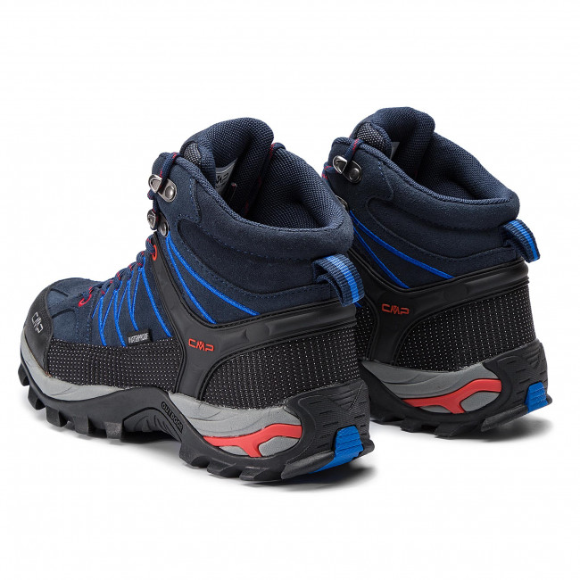 Scarpe da trekking CMP Rigel Mid Trekking Shoes Wp 3Q12947 B.BlueRoyal