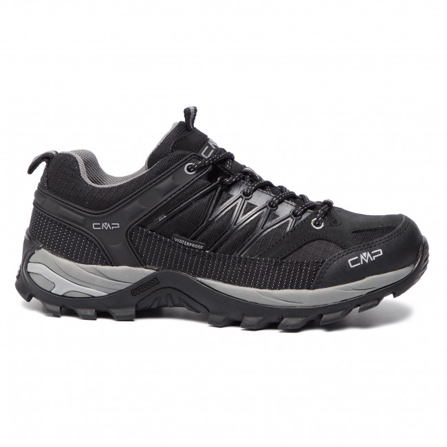 Scarpe da trekking CMP Rigel Low Trekking Shoes Wp 3Q54457 NeroGrey 73UC