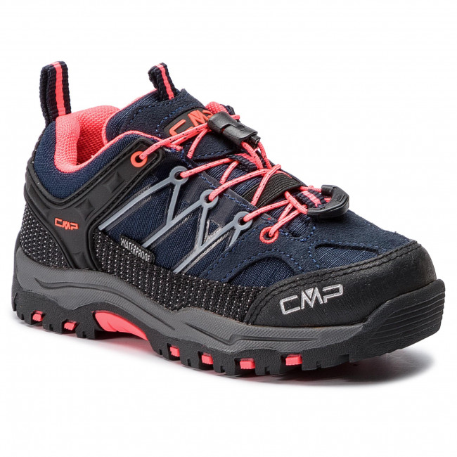 6c902950ad9 Scarpe da trekking CMP - Kids Rigel Low Trekking Shoes Wp 3Q54554 Anthracite/Red  Fluo