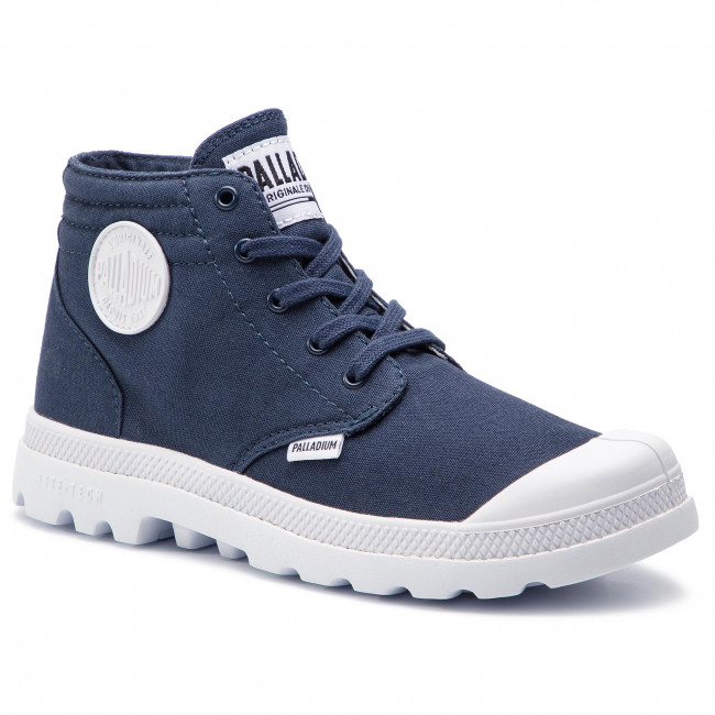 uk availability a6569 a1c0e Scarponcini PALLADIUM - Blanc Lite Low Cuff 56222-458-M Mood Indigo