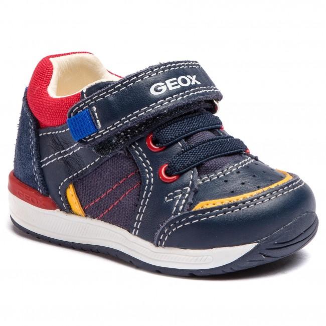 Sneakers GEOX B Rishon B.C B920RC 08510 C0735 M NavyRed