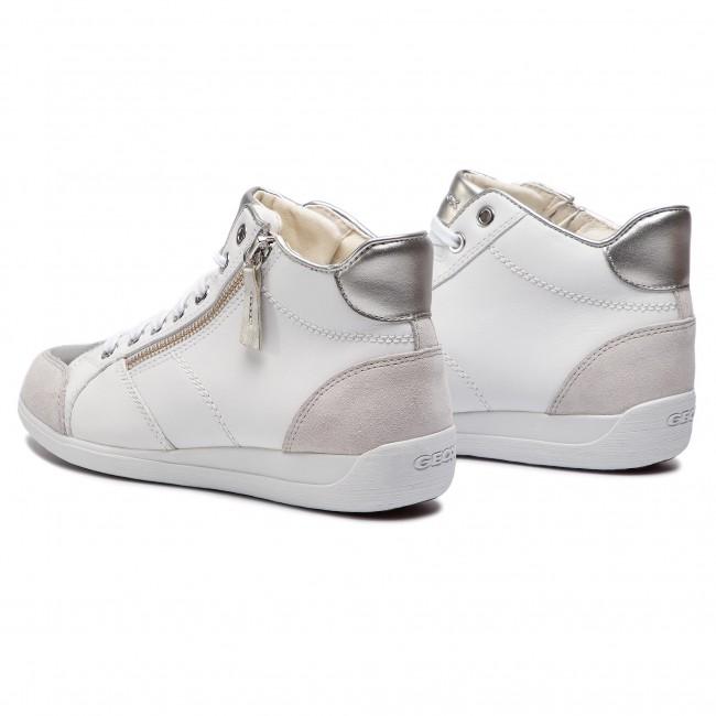 08522 C1000 C Scarpe Donna Basse Sneakers Myria Geox White D D6468c 80PnwXOk