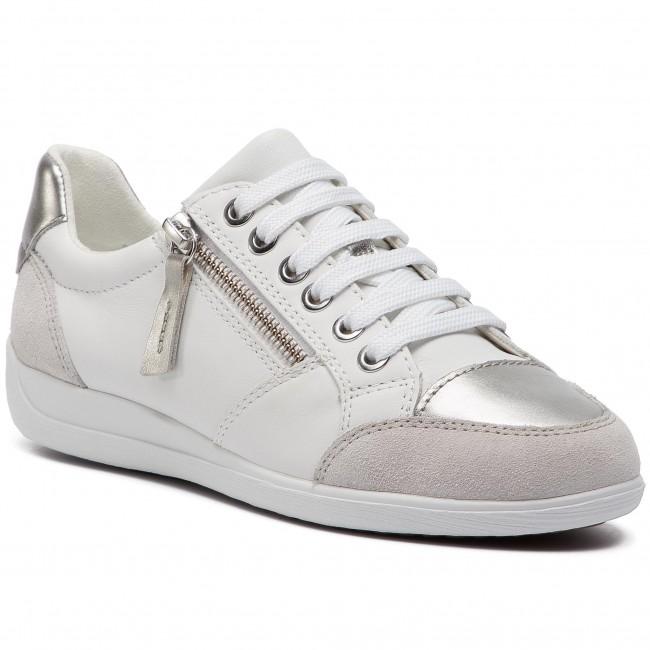 Sneakers GEOX D Myria B D8468B 08522 C1001 White