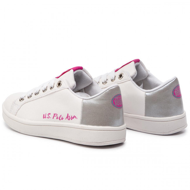 Sneakers U.S. POLO ASSN. - Ginevra ECROK4114S9/Y1 Whi/Sil - Sneakers - Scarpe basse - Donna F56fR