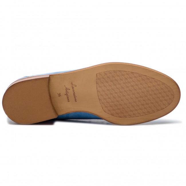 Loafers SOLO FEMME - 96642-05-I53/000-03-00 Błękitny - Loafers - Scarpe basse - Donna