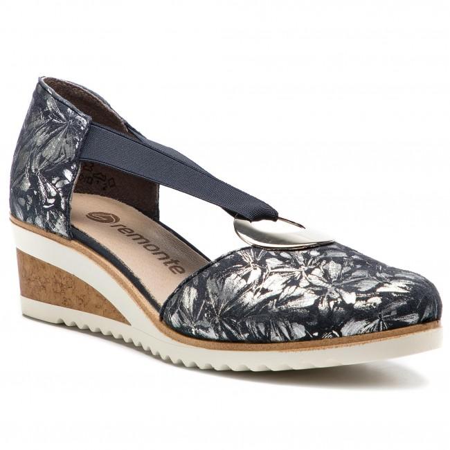 separation shoes 2839f 8dc83 Scarpe basse REMONTE BY RIEKER - D5502-14 Blau Kombi