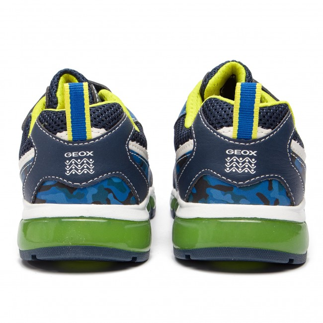 C0749 Android A Sneakers Navy lime BC Scarpe 01454 D Geox Bambino Basse J Strappi J9244c Nn8Ov0mw