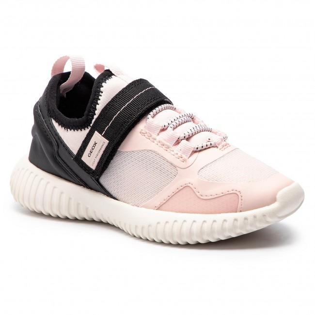 Sneakers GEOX J Waviness G. C J926DC 01415 C8W9B S Lt RoseBlack