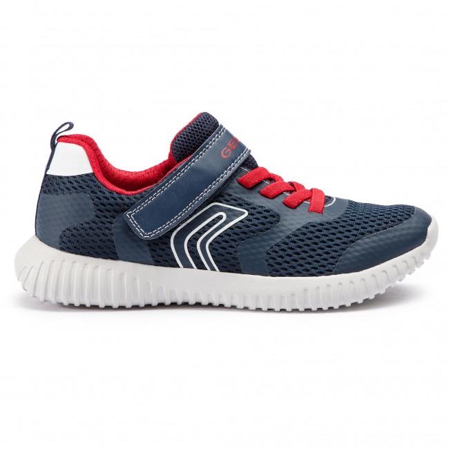 Sneakers GEOX J Waviness B. B J926TB 01454 C0735 D NavyRed