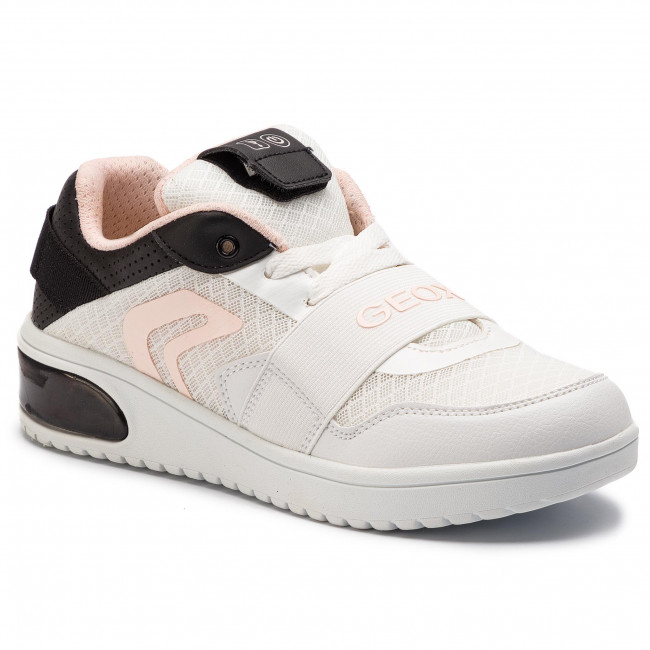 Sneakers GEOX J Xled G. A J928DA 014BU C0404 D WhiteBlack