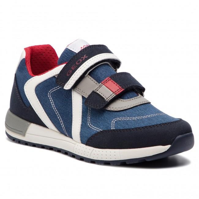 117cbb6467 Sneakers GEOX - J Alben B. B J929EB 010AF C0735 D Navy/Red