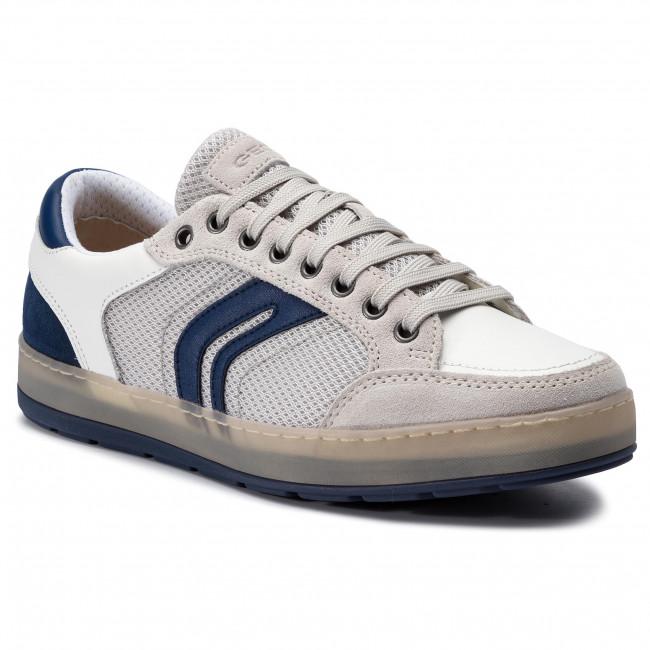 Sneakers GEOX U Ariam A U925QA 02214 C1S1Z PapyrusWhite