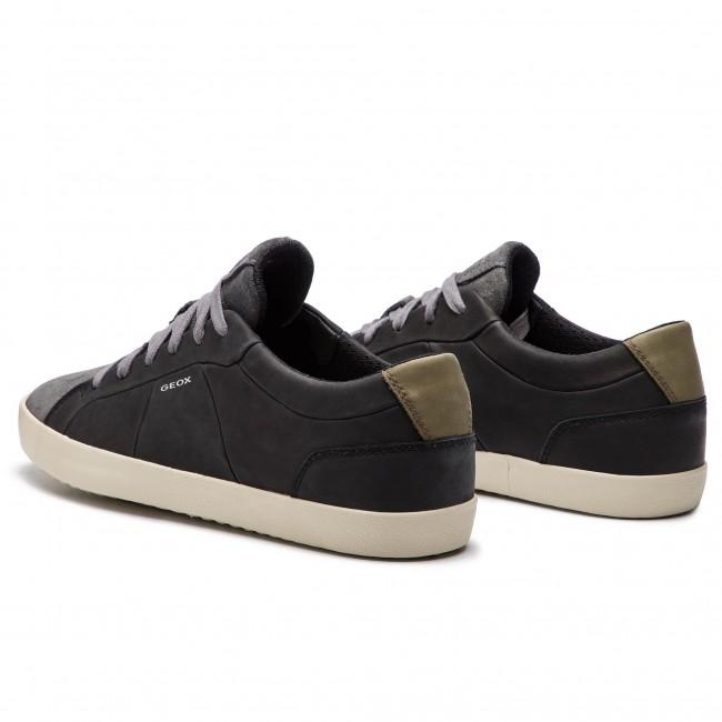 Scarpe Basse C0005 Black 04322 Sneakers Geox A Uomo U926ha Grey Warley dk U CBtshQrxd