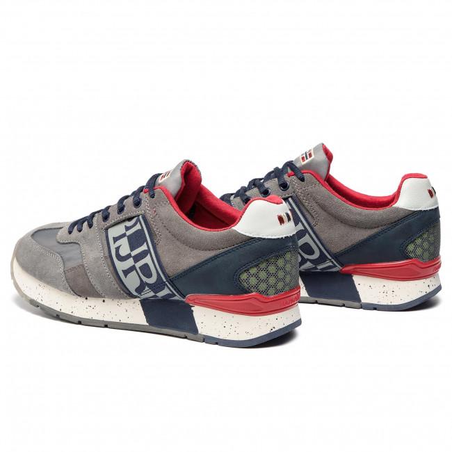 Napapijri Dark N0yk7i Solid Grey Scarpe Uomo Mes Sneakers Rebut Basse 198 ED9WH2IY