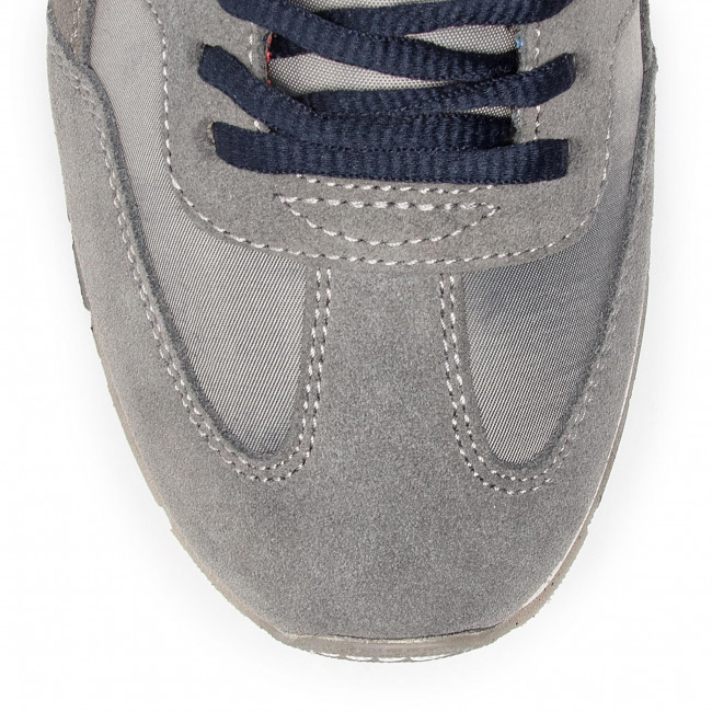 Napapijri Dark Scarpe N0yk7i Solid Basse Uomo Grey Sneakers Rebut 198 Mes OZiTuPXk