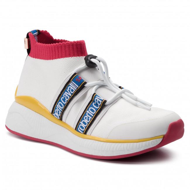 super popular c1c05 c5ba5 Sneakers ROBERTO CAVALLI SPORT - RCW915020 White 01