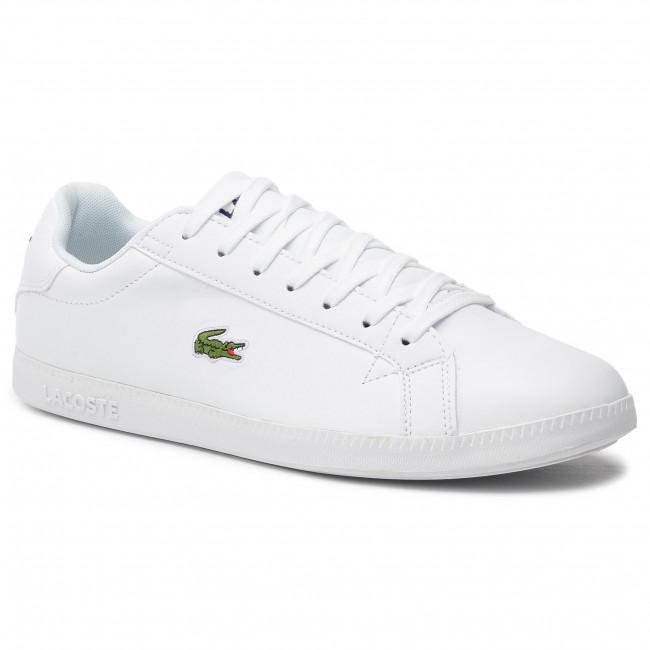 Sneakers LACOSTE - Graduate Bl 1 SMA 737SMA005321G Wht/Wht