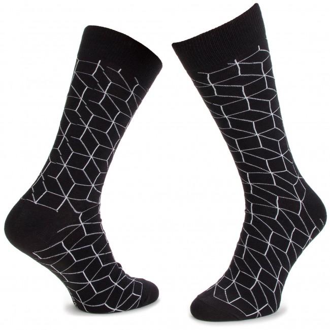 111 sx Accessori Uomo Da Dots Tessili Lunghi Calzini Socks Dts Nero x xCrBoWde