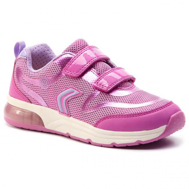 Basse GC J928vc Con S 0gnbc C8257 J Fuchsia lilac Scarpe Spaceclub Sneakers Geox Strappi Bambina Bambino QxoCrdBeW