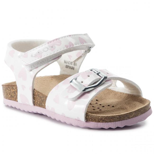 chalki M White C0406 pink GA E Bambina Ciabatte B B922ra Sandali Geox Bambino Sand 000hh lcFK1uTJ35
