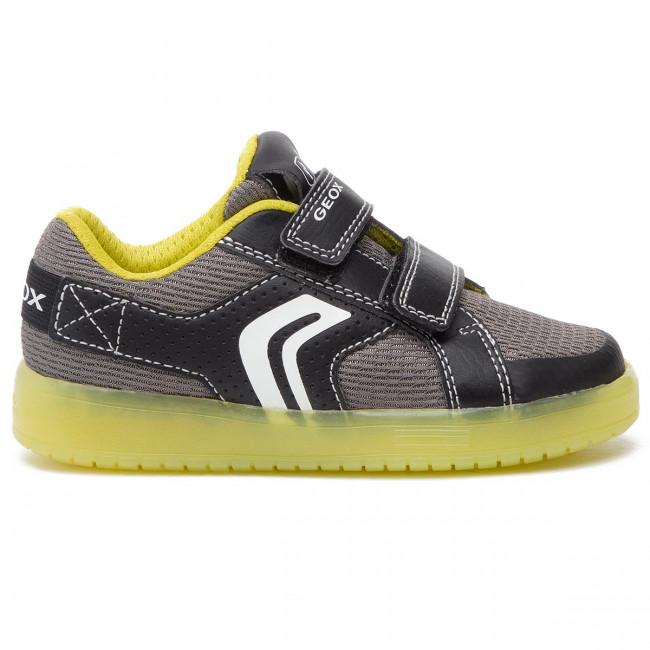 Sneakers GEOX J Kommodor B. A J925PA 014BU C0802 S BlackLime