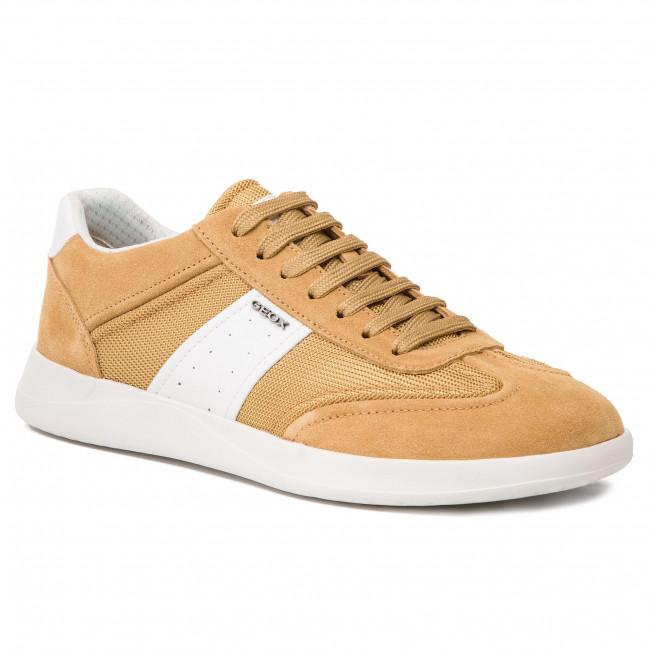 Sneakers GEOX U Kennet A U926FA 02214 C2D1Z CurryWhite