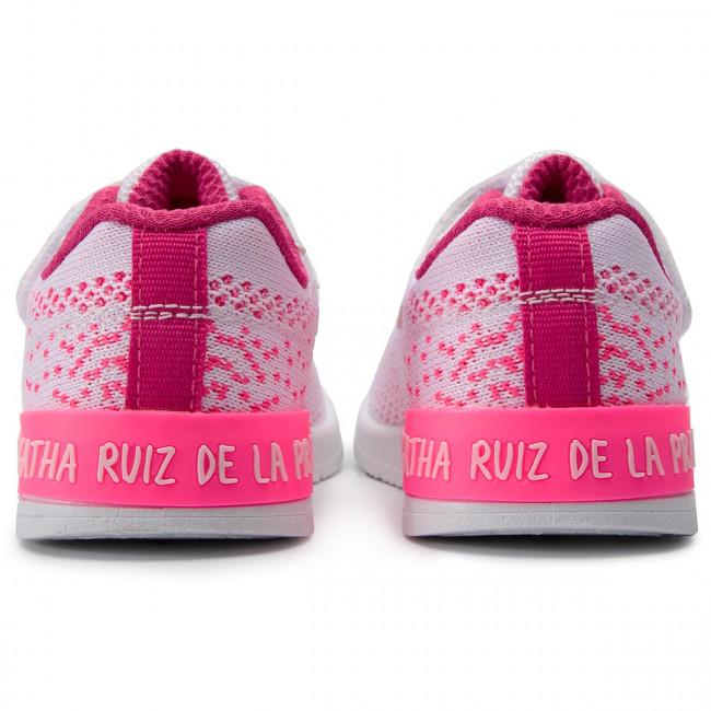 Ruiz Bambina Strappi C Con Basse 192925 Prada De blanco Agatha Bambino Sneakers Scarpe La R4j5q3AL