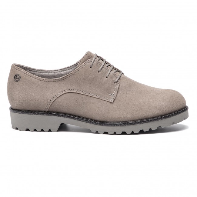 Oxfords 1 Basse 23725 Francesina 21 Donna Tamaris Scarpe Cloud Suede 228 dCexBo