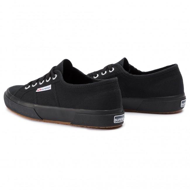 Scarpe sportive SUPERGA 2750 Cotu Classic S000010 Full Black 996