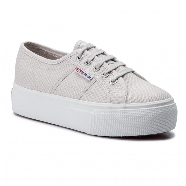 Donna Superga LINEA UP AND DOWN Sneakers basse grey seashell