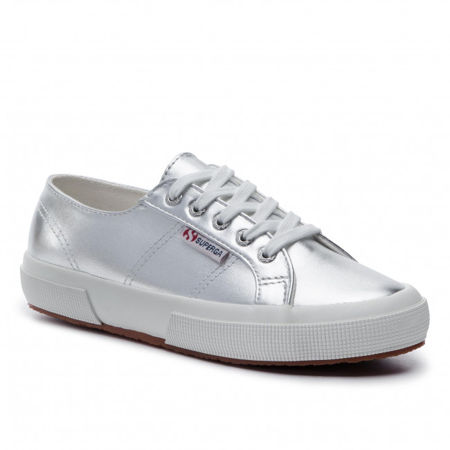 Scarpe sportive SUPERGA 2750 Pumetw S00FBC0 Grey Silver 031